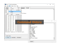 Command history
