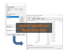 Launch SpecE8 and React