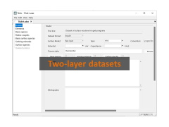 Two-layer datasets
