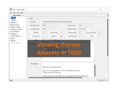 Viewing thermo datasets